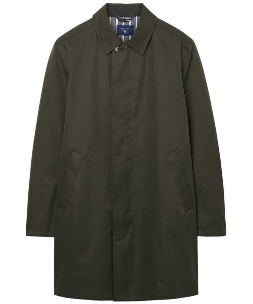 Men's GANT Over Coat - Soil Green