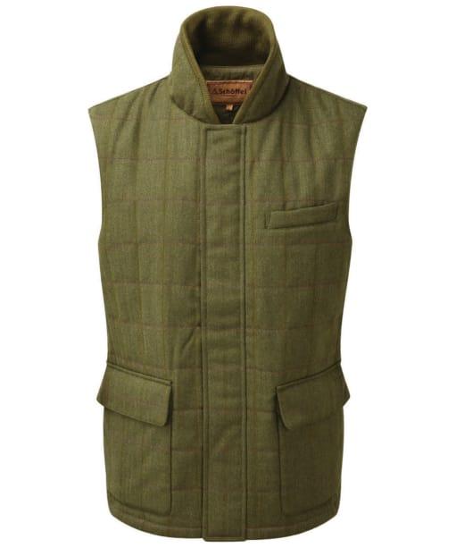 Men's Schöffel Sedbergh Tweed Gilet - Sandringham Tweed