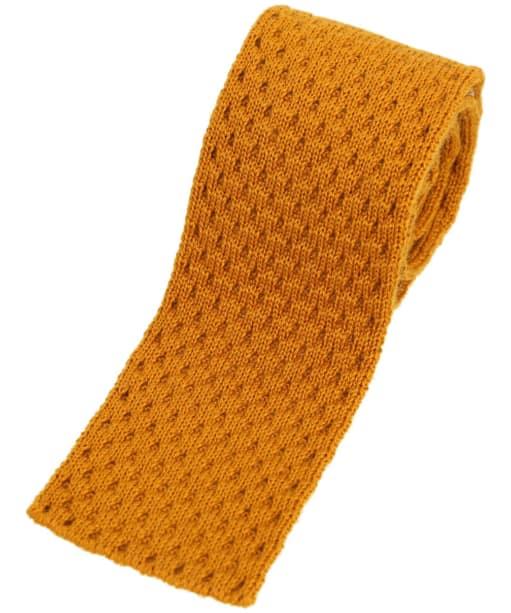 Men's Schöffel Knitted Tie - Ochre
