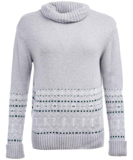 Winterton Knit - Light Grey Marl