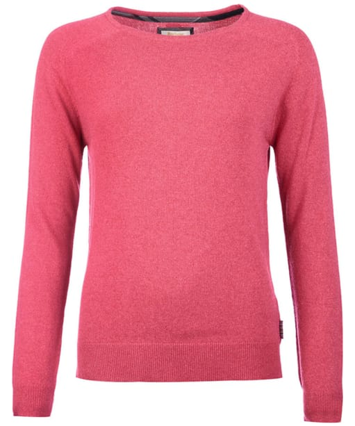 Women's Barbour Mill Crew Neck Sweater - Aster