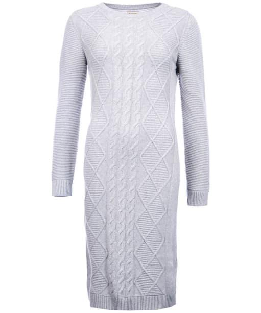 Women's Barbour Emmanuel Knit - Light Grey Marl
