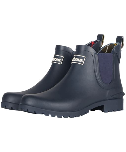 Women's Barbour Wilton Welly - Navy