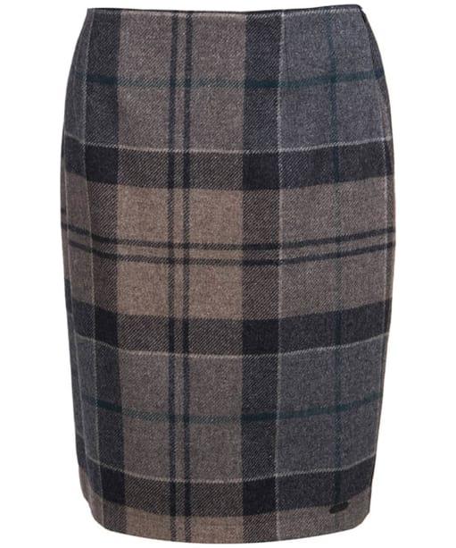 Women's Barbour Nebit Pencil Skirt - Emerald Winter Tartan