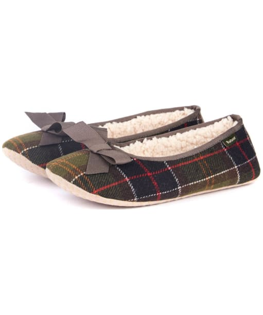 Women's Barbour Lily Slippers - Barbour Classic
