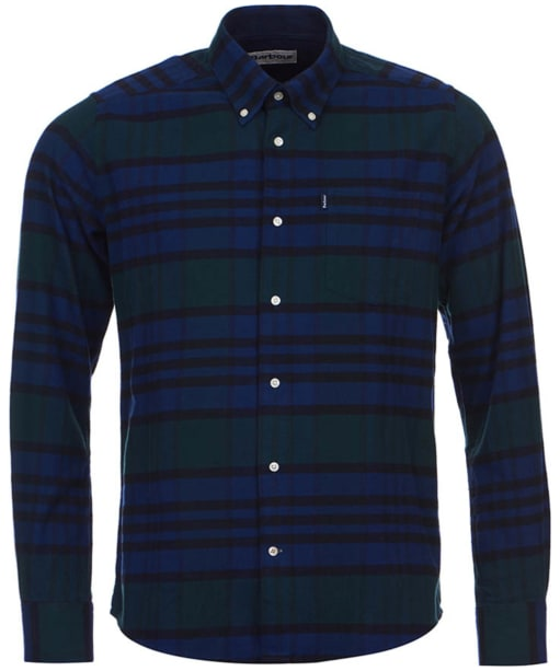 Barbour Castlebay Check Tailored Shirt - Forest Check