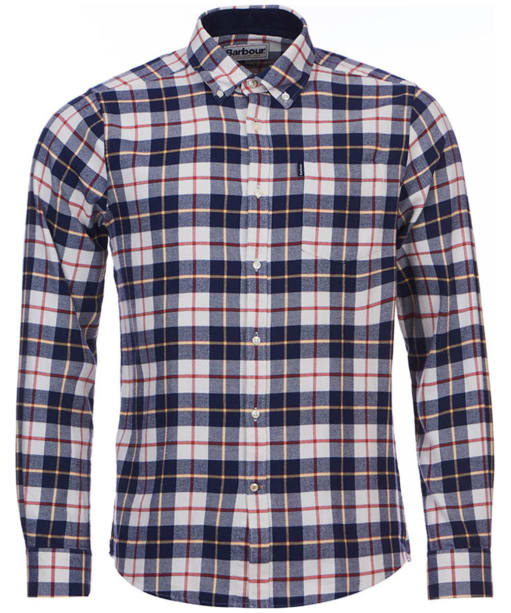 Men's Barbour Blake Check Shirt - Ecru Check