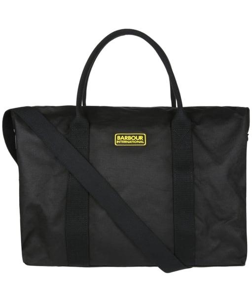 Barbour International Tyne Holdall Bag - Black / Blue