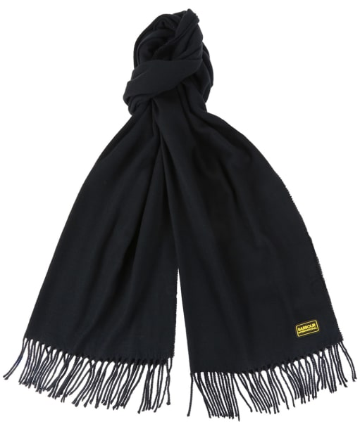 Plain Internat Scarf - Black