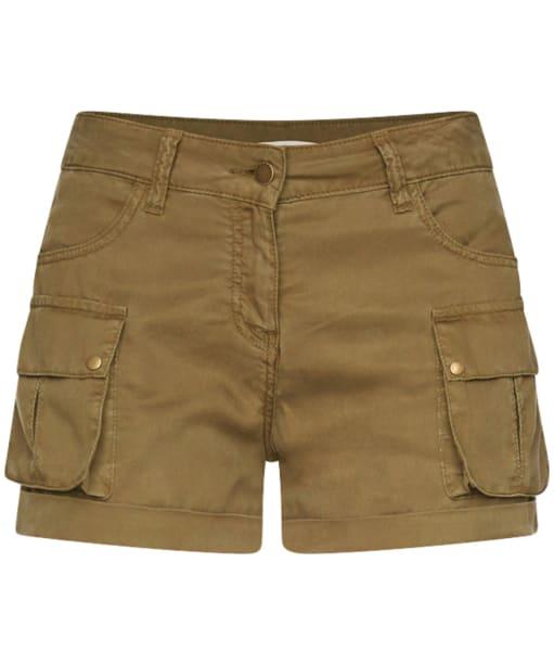 Women's Barbour Crusader Shorts - Light Khaki