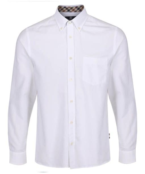 Men's Aquascutum Bevan Classic Oxford Shirt - White