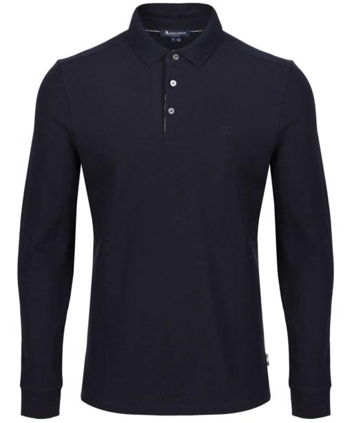 Men's Aquascutum Hillington Polo Shirt - Navy