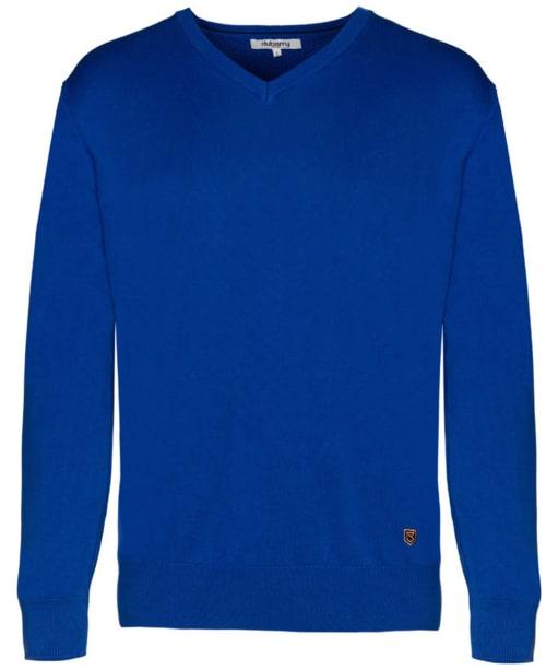 Men's Dubarry Carson V-neck Sweater - Cobalt Blue