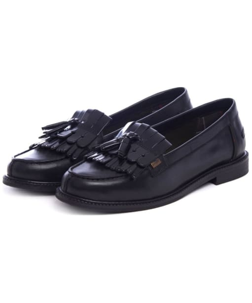 Women's Barbour Olivia Loafers - Black