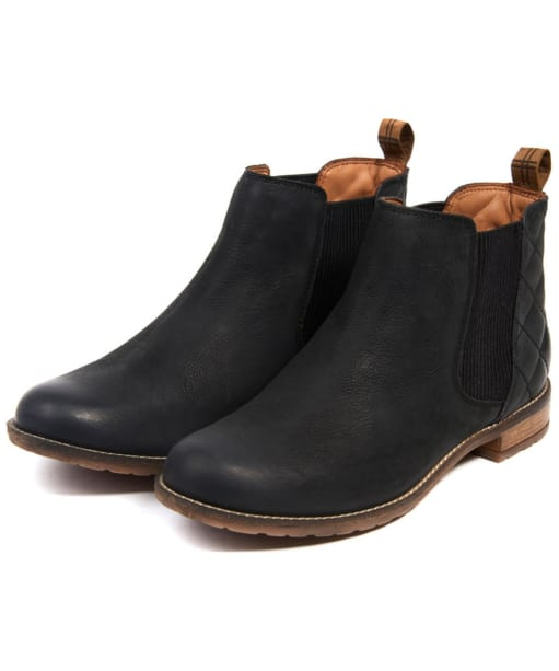 Women's Barbour Abigail Chelsea Boot - Black