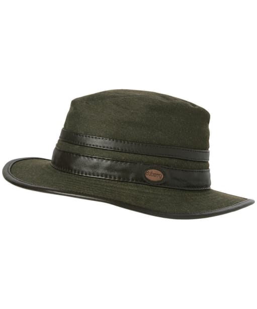 Women's Dubarry Butler Fedora Hat - Dark Olive