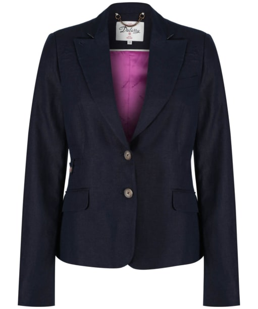 Women's Dubarry Blairscove Linen Blazer - Navy
