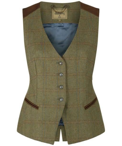 Women's Dubarry Daisy Tweed Waistcoat - Acorn