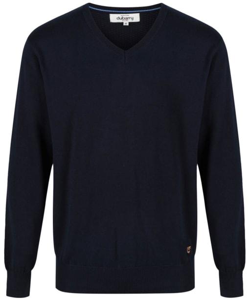 Men's Dubarry Carson V-neck Sweater - Navy