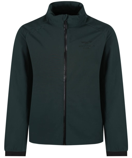 Men's Hackett Aston Martin Soft Shell Jacket - Green