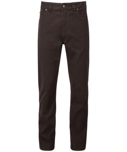 Men's Schoffel Canterbury 5 Pocket Jeans - Espresso