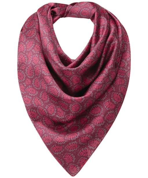 Women's Schöffel Silk Scarf - Raspberry