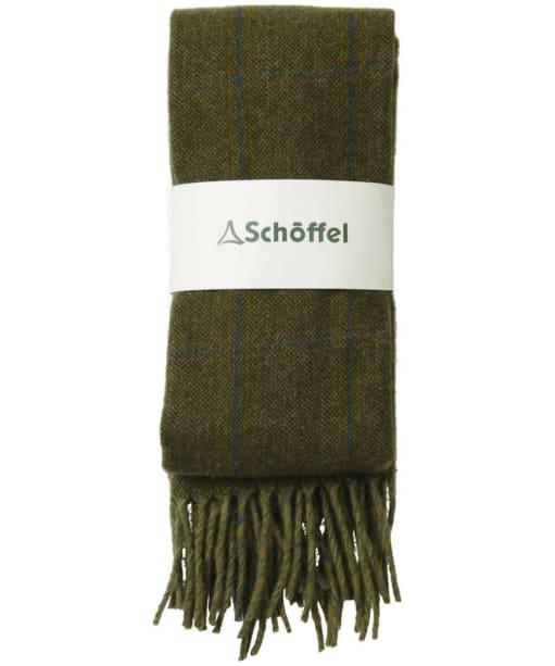 Schöffel House Tweed Scarf - Sandringham Tweed