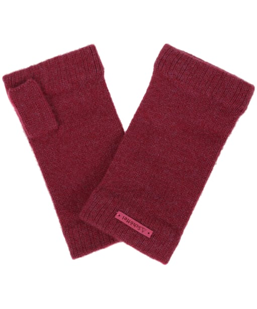 Women's Schöffel Cashmere Wrist Warmers - Raspberry