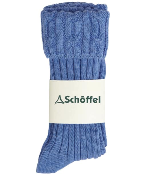 Women's Schöffel Short Boot Socks - Bluebell