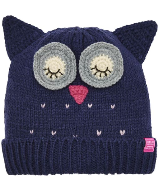 Girl's Joules Chum Character Hat - Owl