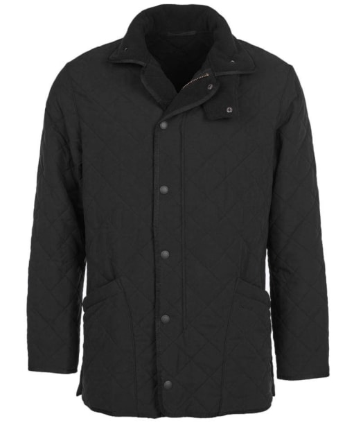 Barbour Mens Microfibre Polarquilt Jacket- Black
