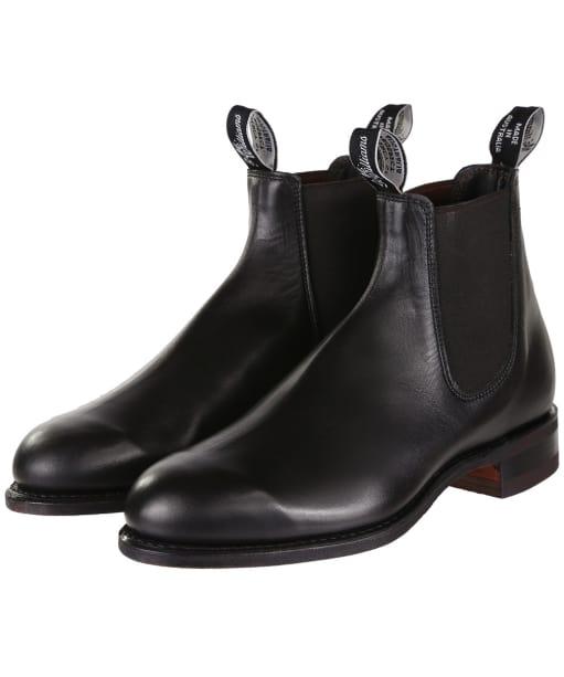 Men's R.M. Williams Comfort Turnout Boots - Black