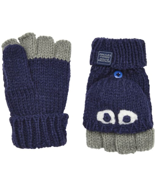 Joules Chummy Character Mittens - French Navy