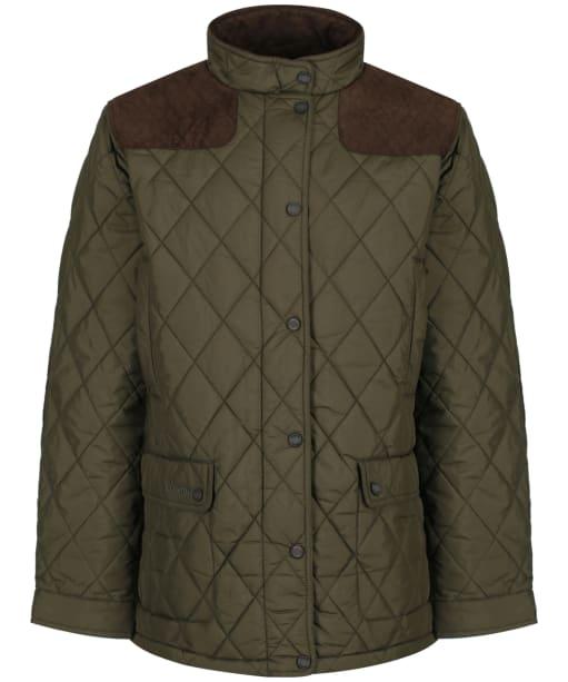 Men's Dubarry Castlemartyr Quilted Jacket - Olive