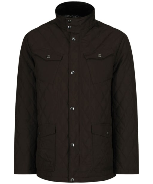 Men's GANT Central Pond Quilter Jacket - Dark Choc Brown