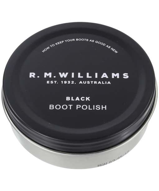 R.M. Williams Stockmans Boot Polish - Chestnut - Black