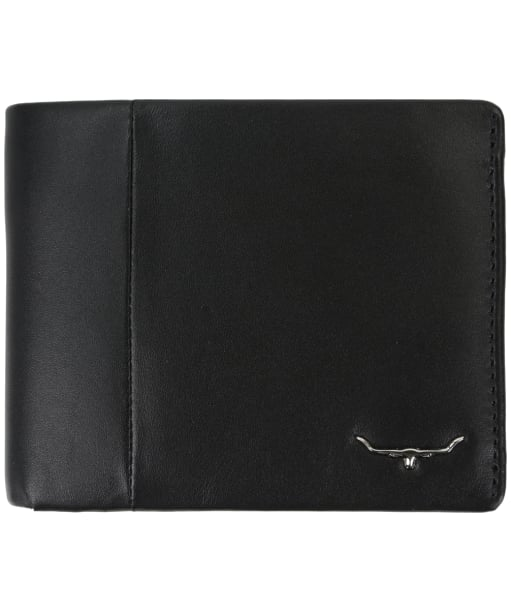 R.M. Williams Men's Wallet with Coin Pocket - Black
