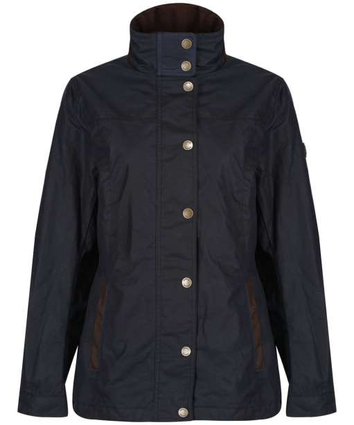 Women's Dubarry Mountrath Waxed Jacket - Navy