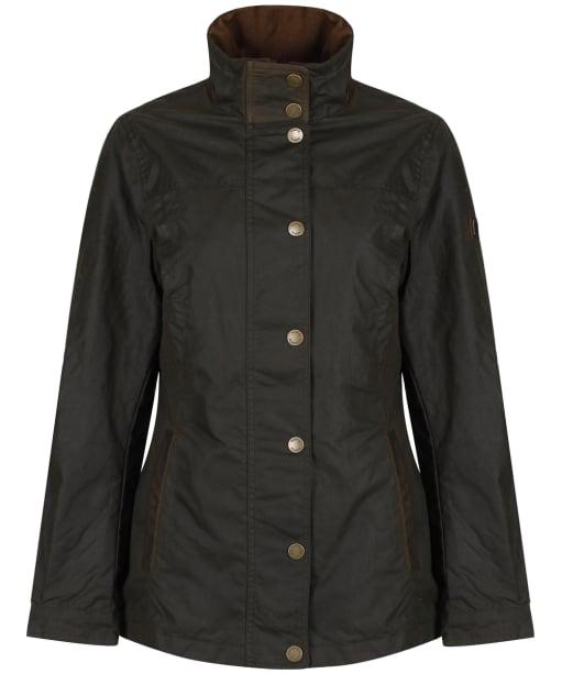Women's Dubarry Mountrath Waxed Jacket - Olive