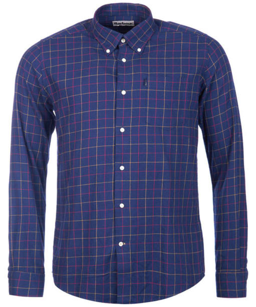 Men's Barbour Archie Tattersall Shirt - Navy Check