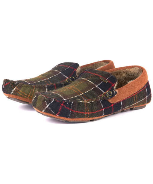 Men's Barbour Monty Thinsulate Slippers - Classic Tartan