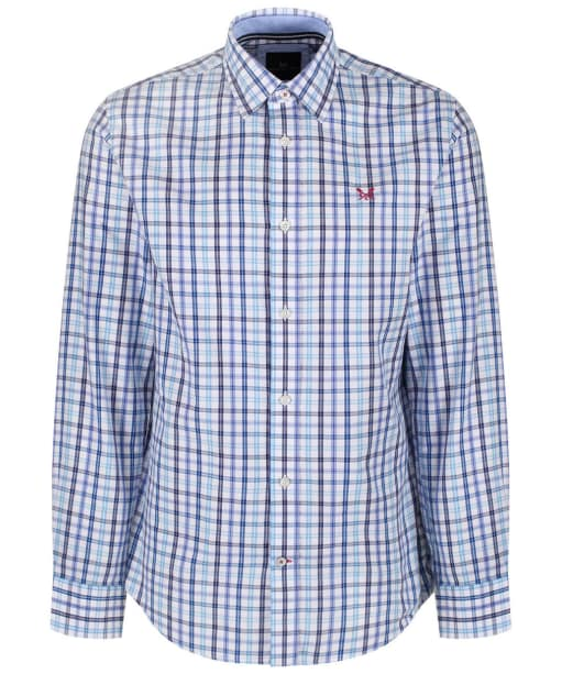 Men's Crew Clothing Belstone Classic Check Shirt - Periwinkle