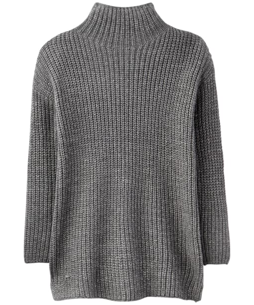 Women's Joules Prunella Funnel Neck Sweater - Grey