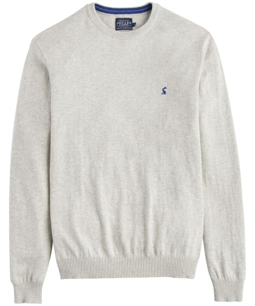 Men's Joules Retford Crew Neck Sweater - Cream Grey Marl