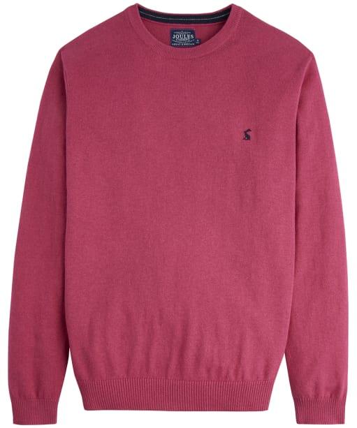 Men's Joules Retford Crew Neck Sweater - Raspberry Marl