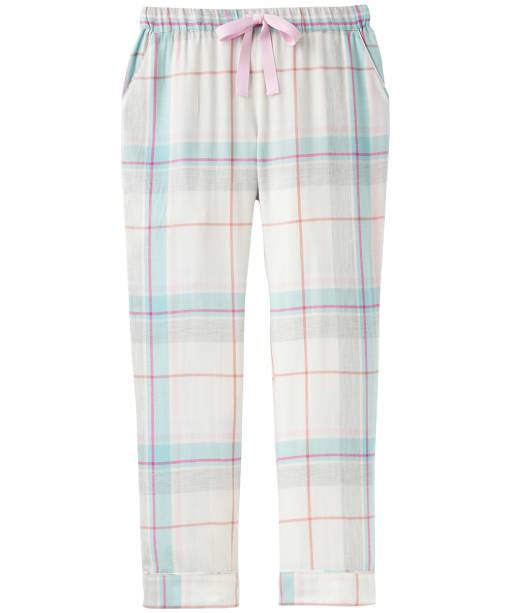Women's Joules Snooze Pyjama Bottoms - Pink Blue Check