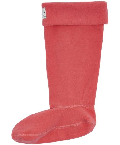 Women's Joules Welton Fleece Welly Socks - Red Sky