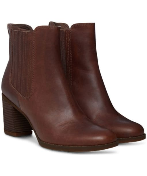 Women's Timberland Atlantic Heights Chelsea Boots - Wheat Forty