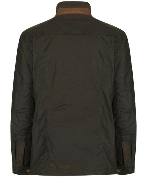 Men's Dubarry Carrickfergus Waxed Jacket - Olive