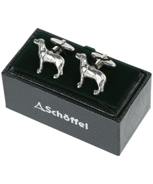 Men's Schöffel Cufflinks - Pewter Labrador
